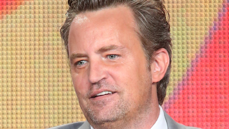 Matthew Perry at an event.