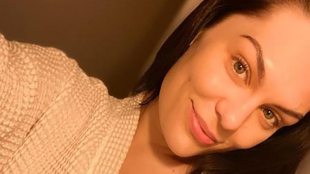 Jessie J smiling on Instagram