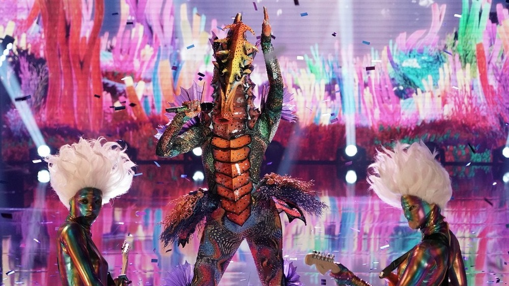 Seahorse on Masked Singer