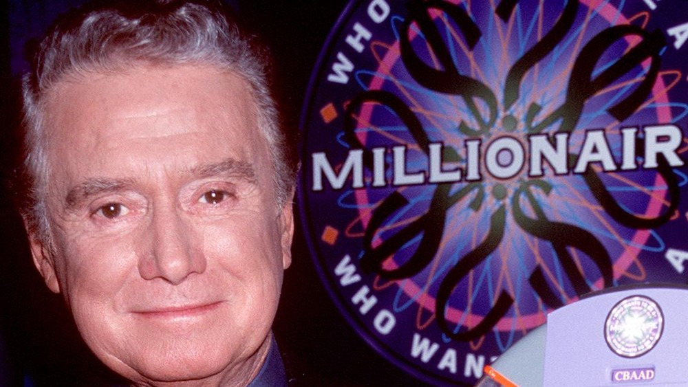 Regis Philbin on Who Wants to be a Millionaire