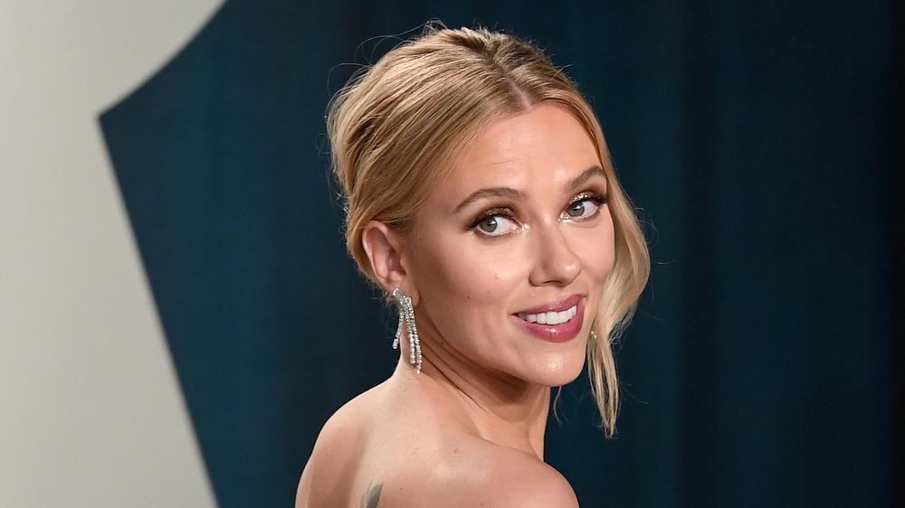 Scarlett Johansson at awards show
