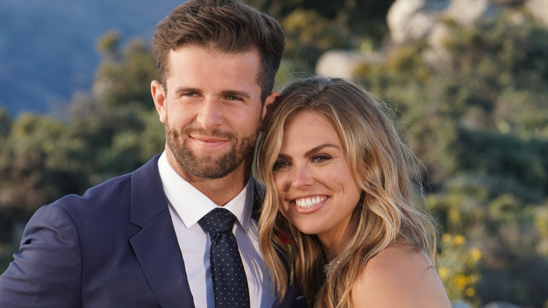 Bachelor Nation couple Hannah Brown and Jed Wyatt, who had a short engagement