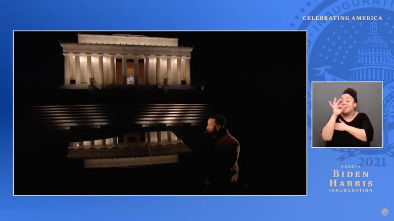John Legend inauguration performance