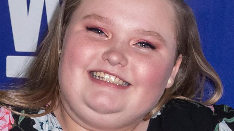 Alana Thompson smile