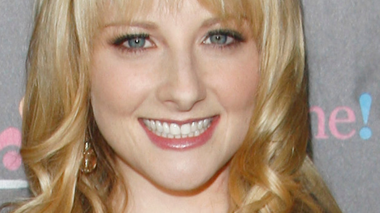 Melissa Rauch smiling