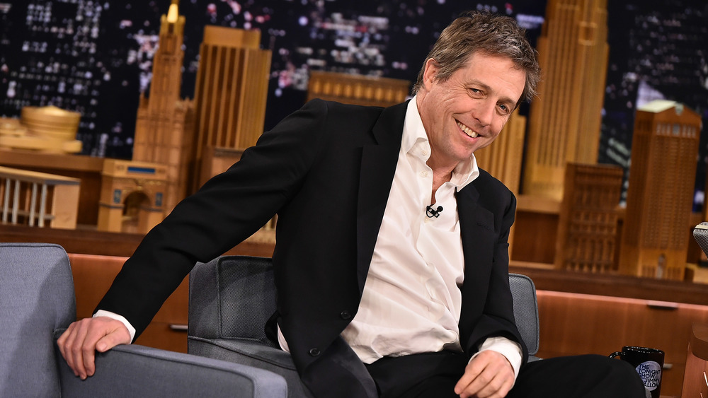 Hugh Grant on The Tonight Show with Jimmy Fallon