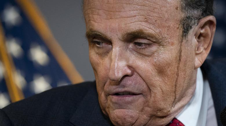 Giuliani with streaks