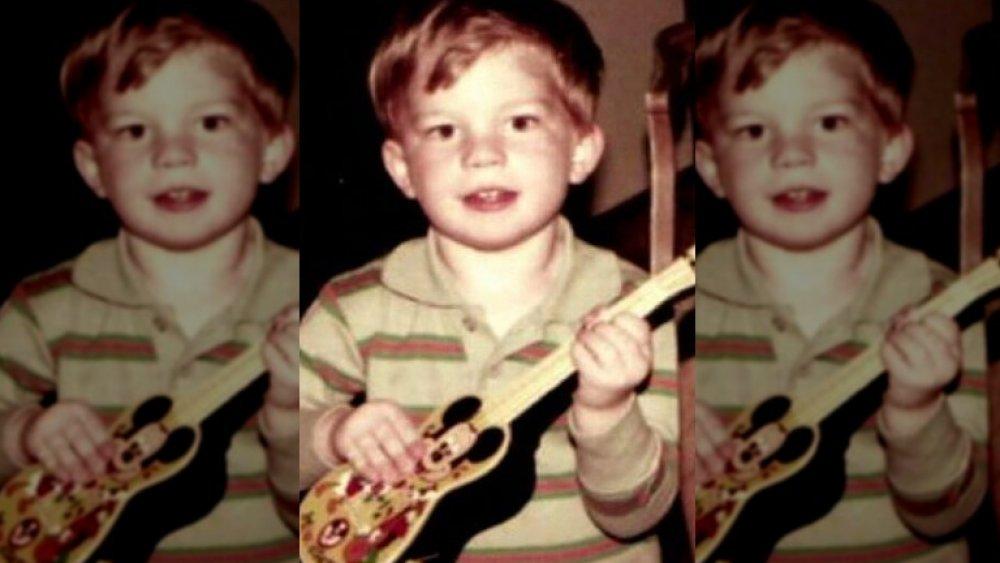 Adam Lambert as a kid