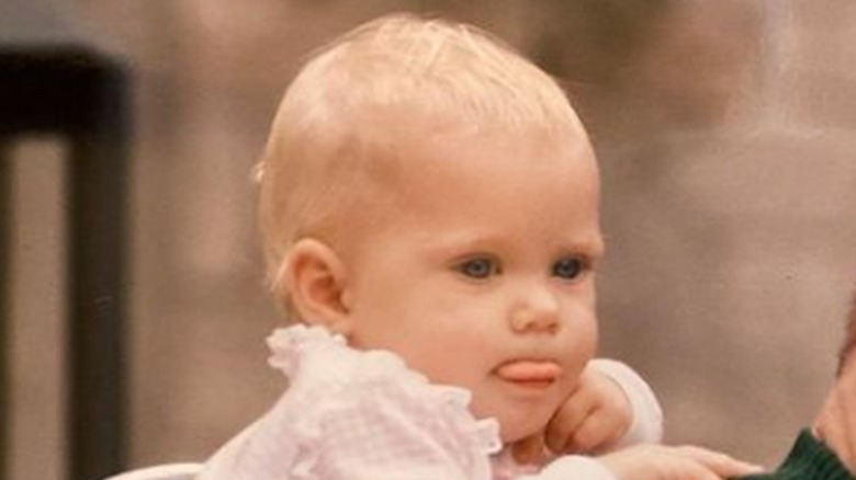 Amy Adams as a baby