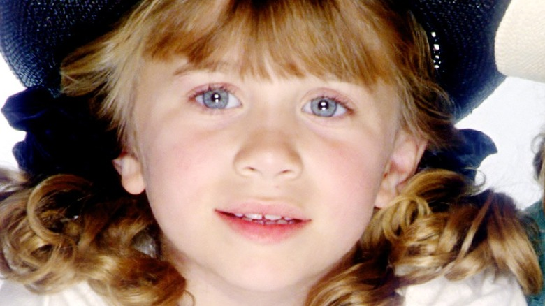 Ashley Olsen smiling