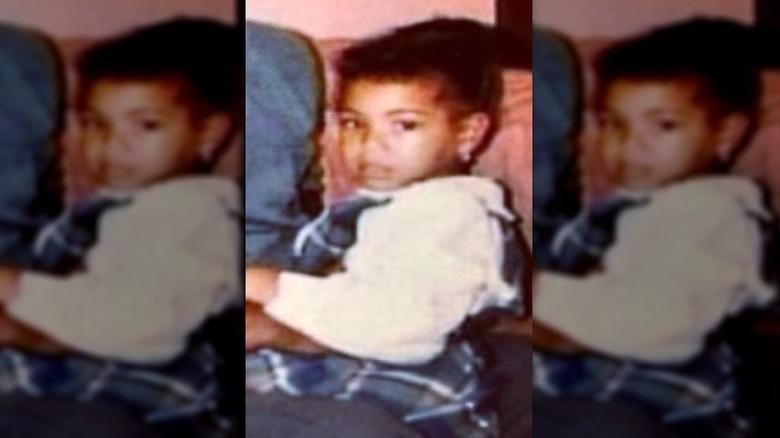 Beyoncé as a toddler