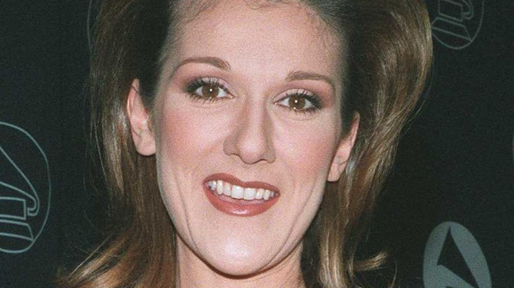 Celine Dion smiling