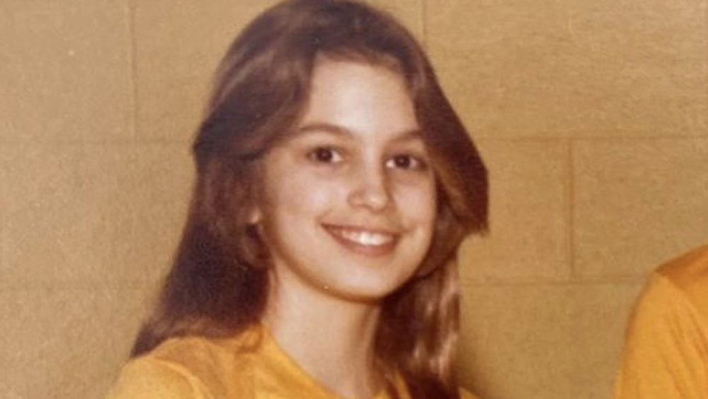 Cindy Crawford as a kid