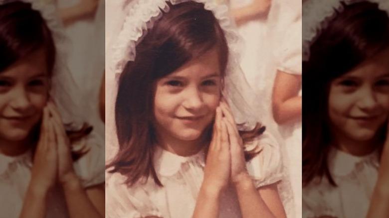 Courteney Cox as a kid