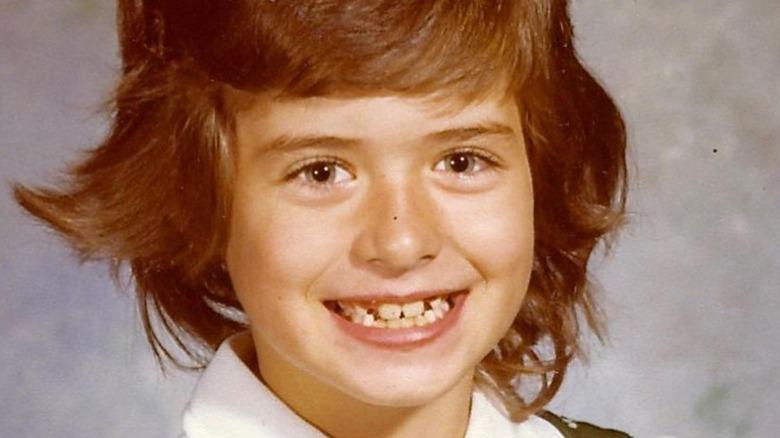 young Debra Messing school photo