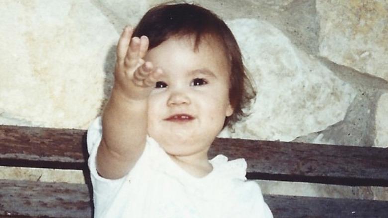 Demi Lovato as a baby