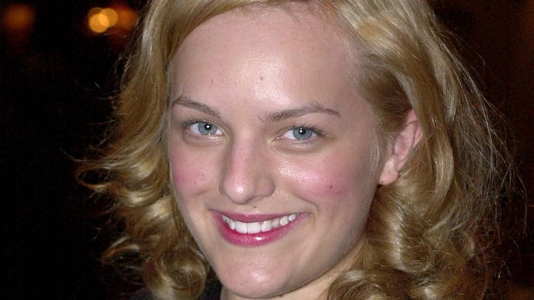 Elisabeth Moss smiling