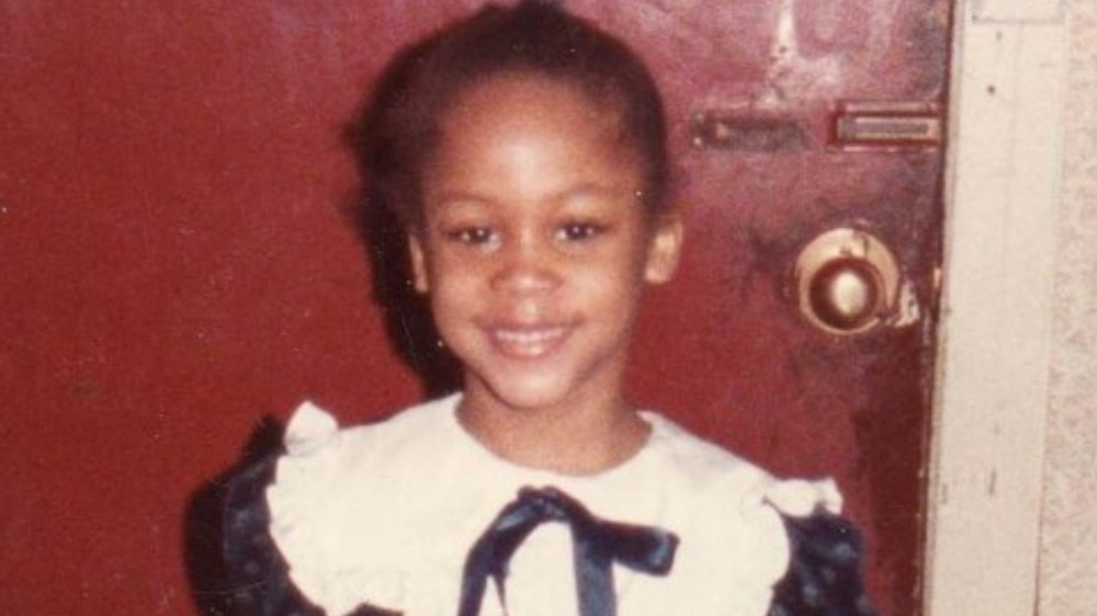 Eve as a child