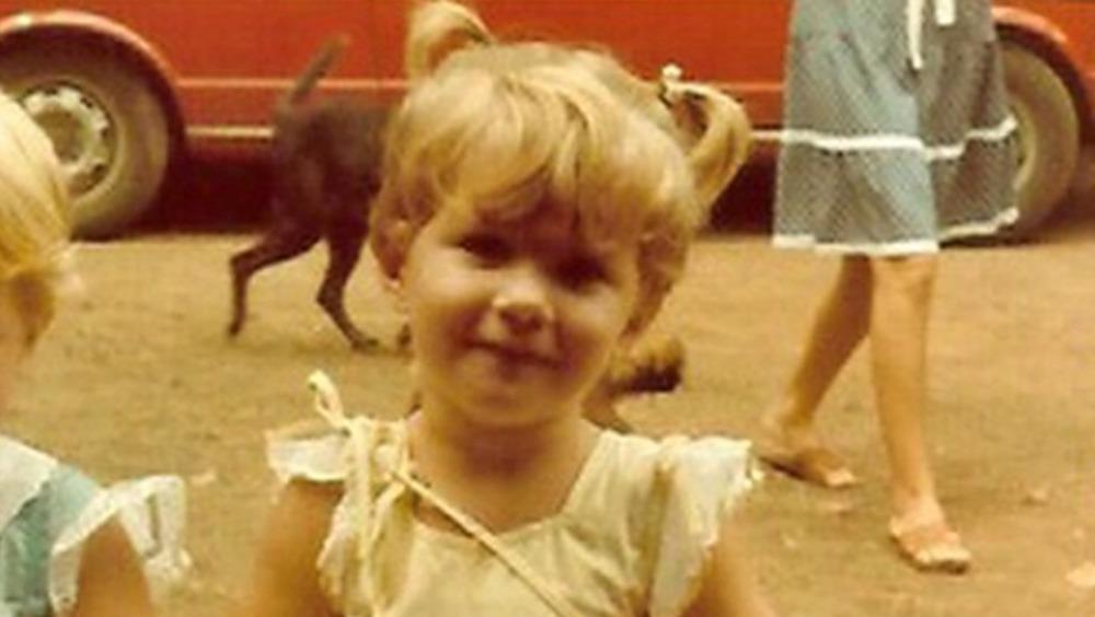 Gisele Bündchen as a little girl