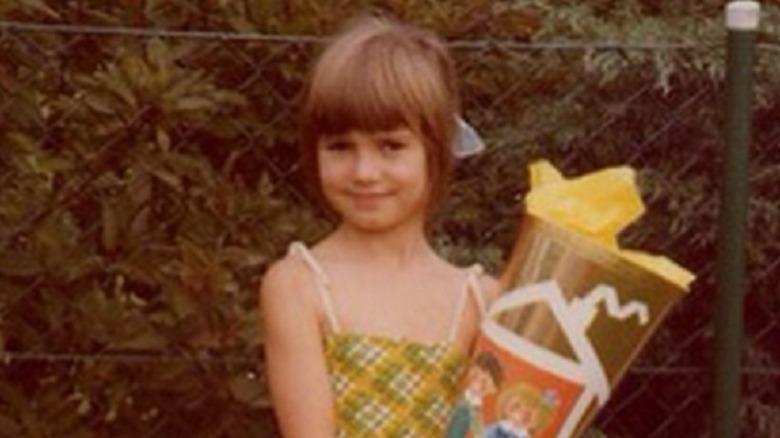 Heidi Klum at age six