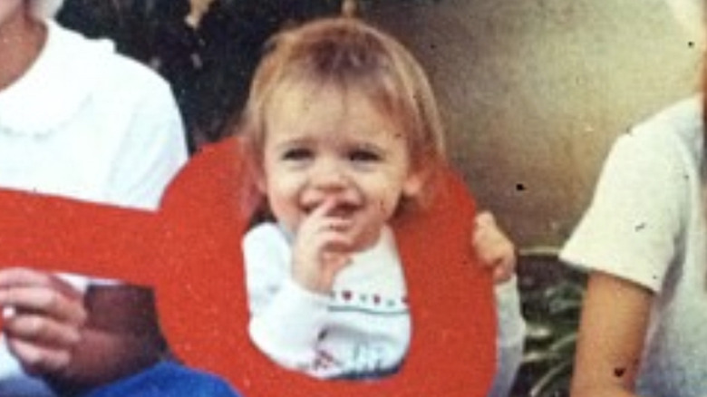 Joey King as a baby