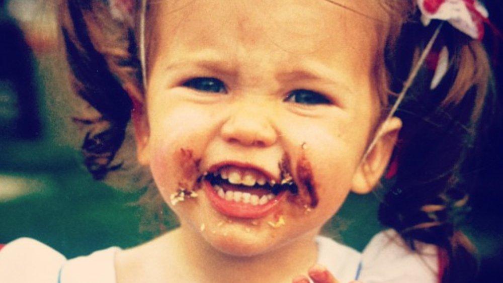 Bachelor star Kaitlyn Bristowe as a kid