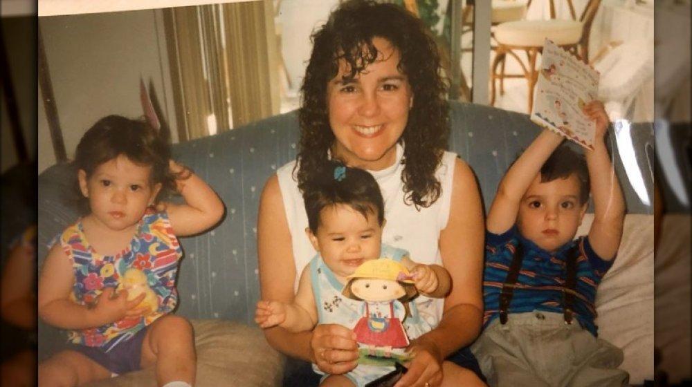 Karen Pence with kids