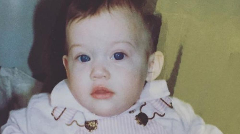 Kat Dennings as a baby