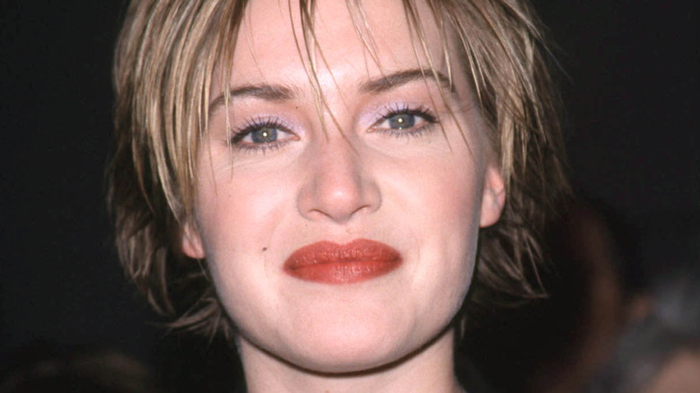 Kate Winslet with short hair