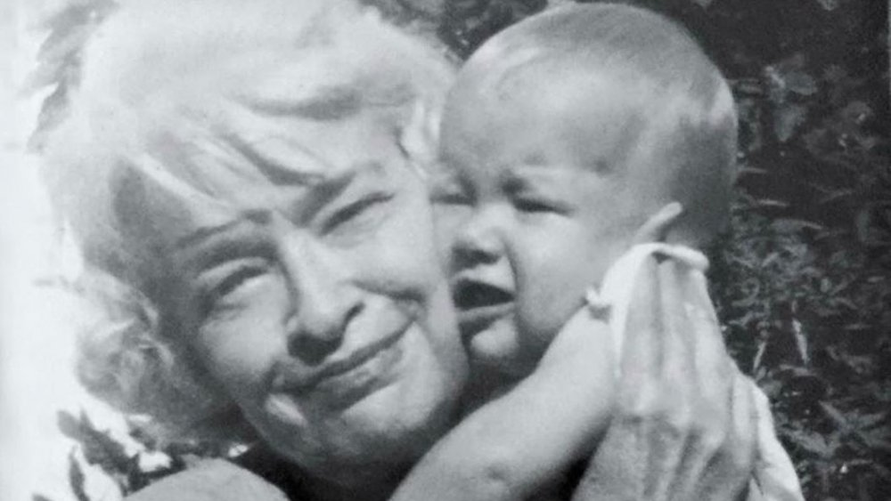 Laura Dern as a baby