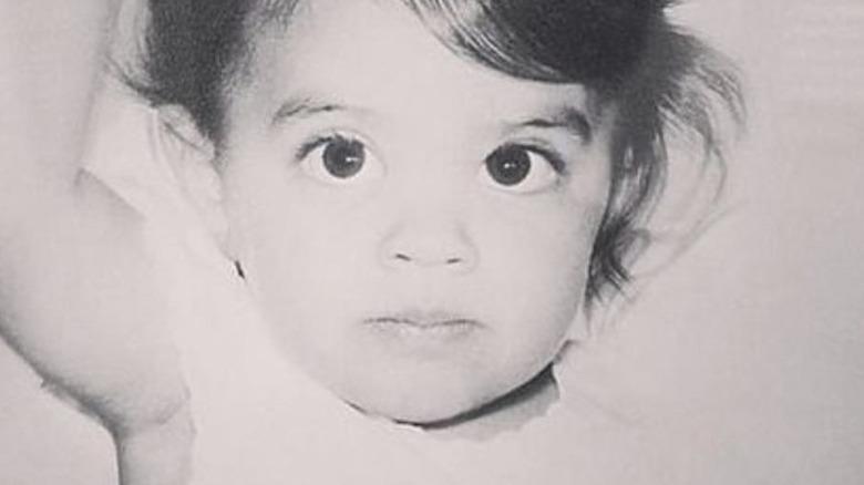 Lisa Rinna as a baby