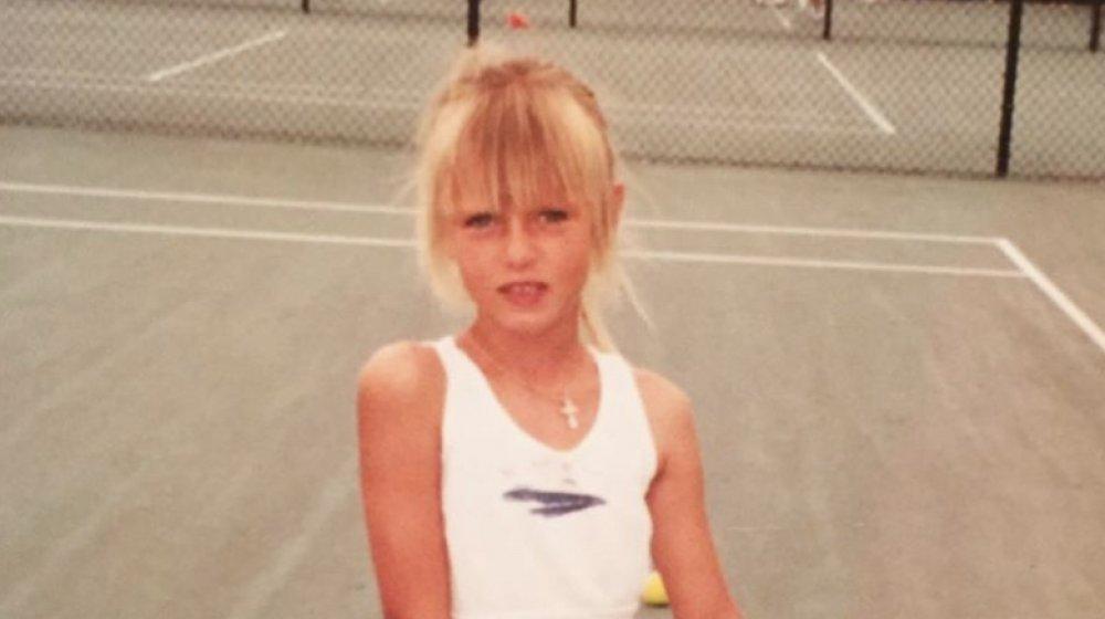 Maria Sharapova as a kid