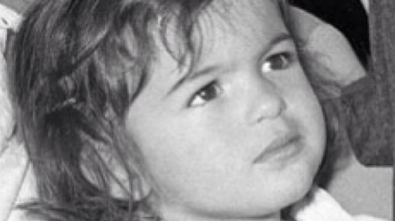 Mariska Hargitay as a little girl
