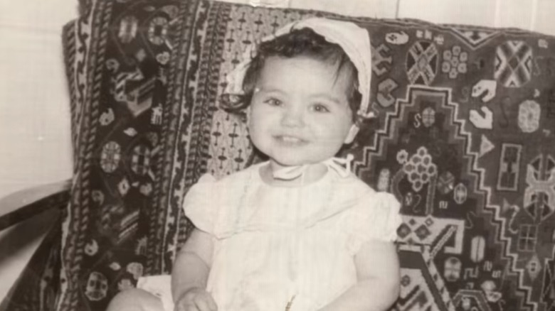 Mila Kunis as a baby