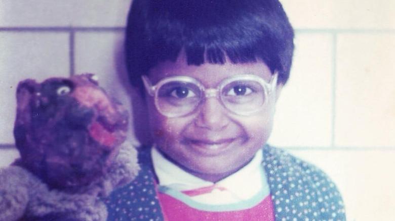 Mindy Kaling as a kid