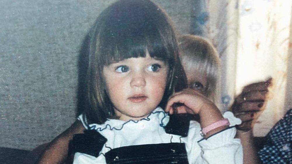 Miranda Kerr as a child