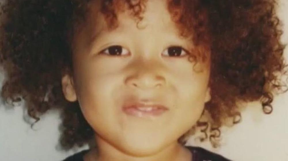 Naomi Osaka as a kid, close-up