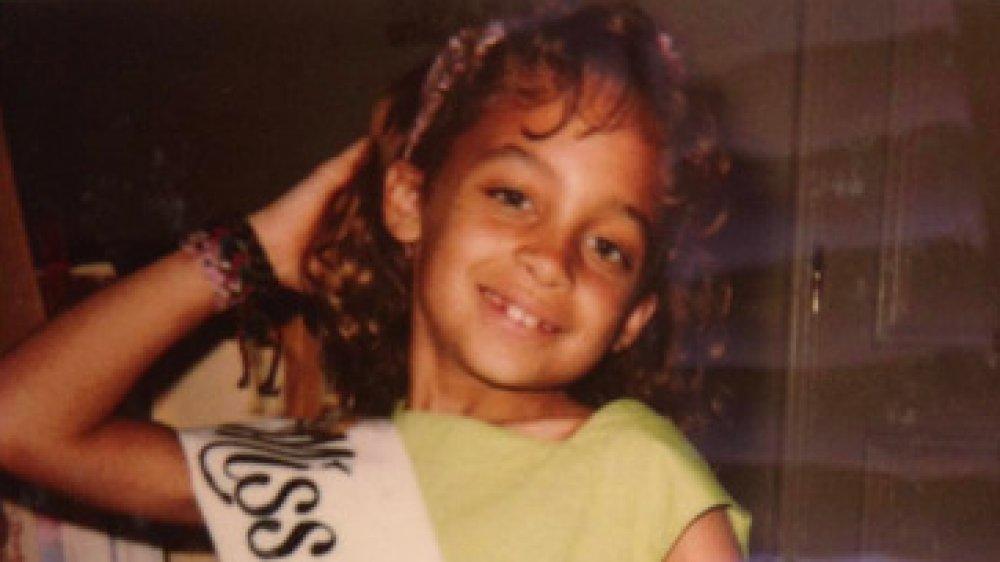 Nicole Richie as a kid