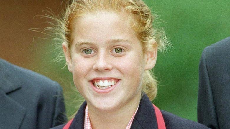 young Princess Beatrice