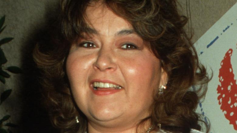Roseanne Barr smiling