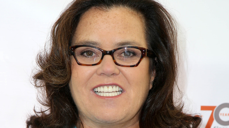 Rosie O'Donnell on the red carpet