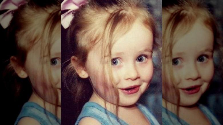 Sabrina Carpenter as a kid