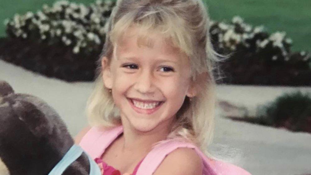 Savannah Chrisley as a kid