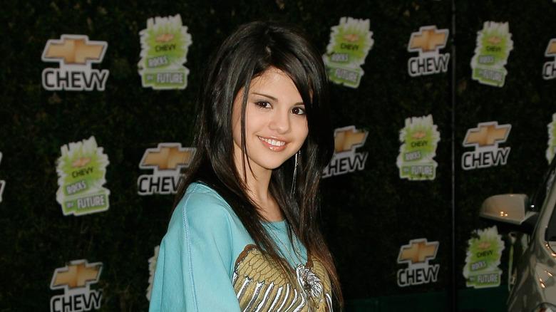 jovem Selena Gomez