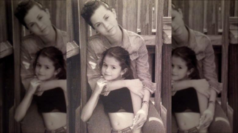 Selena Gomez com a mãe dela