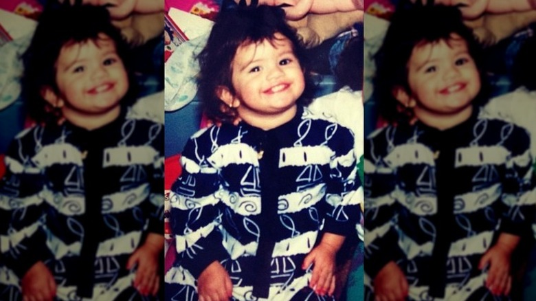 bebê Selena Gomez