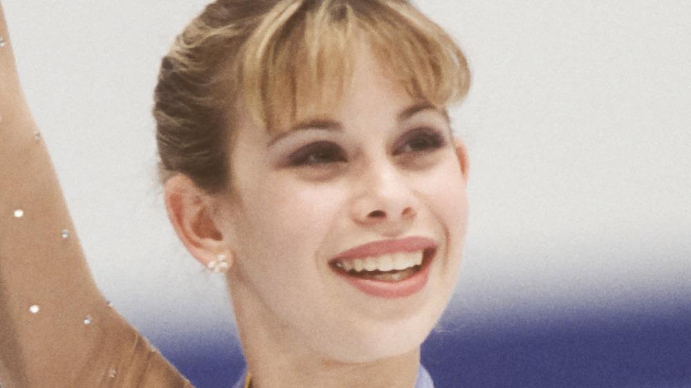 Tara Lipinski smiling