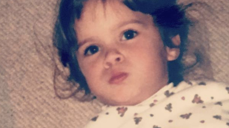 Teddi Jo Mellencamp as a child