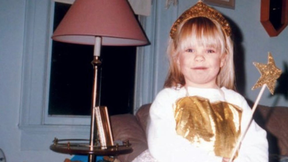 Catelynn Lowell in a childhood photograph