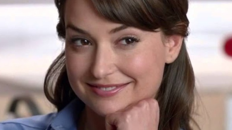 Milana Vayntrub as the AT&T commercial